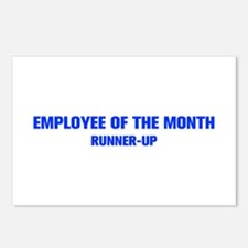 EMPLOYEE-OF-THE-MONTH-AKZ-BLUE Postcards (Package