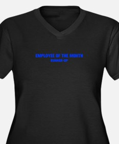 EMPLOYEE-OF-THE-MONTH-AKZ-BLUE Plus Size T-Shirt
