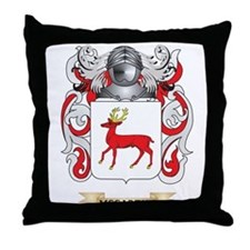 McCarthy Coat of Arms - Family Crest Throw Pillow