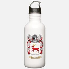 McCarthy Coat of Arms - Family Crest Water Bottle