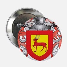 "McCarty Coat of Arms - Family Crest 2.25"" Button"