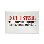 Don't Steal. The government hates competition. Re