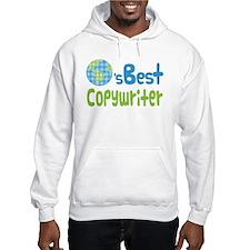 Earths Best Copywriter Hoodie