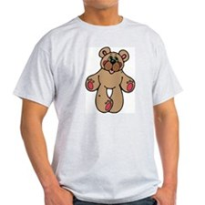 Standing teddy Ash Grey T-Shirt