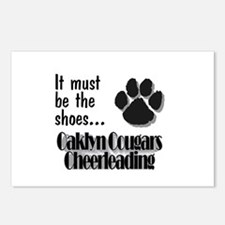 Oaklyn Cougars - Shoes Postcards (Package of 8)