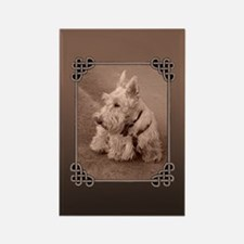 Wheaten Scottie Rectangle Magnet
