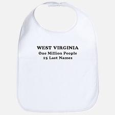 West Virginia one million people 15 last names Bib