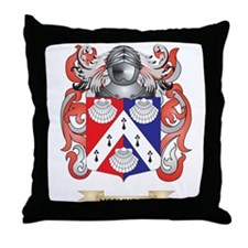 McClintock Coat of Arms - Family Crest Throw Pillo