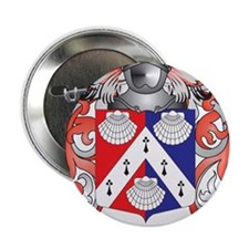 """McClintock Coat of Arms - Family Crest 2.25"""" Butto"""
