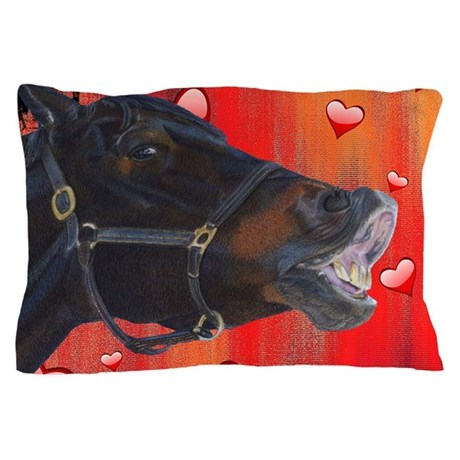 I Love My Pony! Cute Equestrian Pillow Case