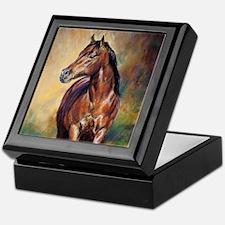 Dude horse painting Keepsake Box
