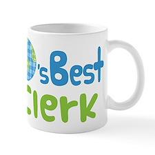 Earths Best Clerk Mug