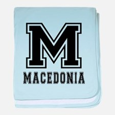 Macedonia Designs baby blanket