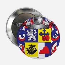 "McConnel Coat of Arms - Family Crest 2.25"" Button"