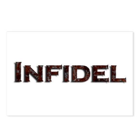 Infidel Postcards (Package of 8)