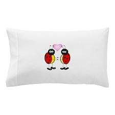 Cartoon Love Bugs Pillow Case