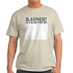 Blasphemy Blast 4 Me T-Shirt (Grey) M