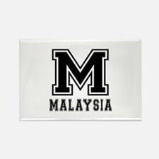 Malaysia Designs Rectangle Magnet