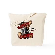 Gas Masks & Teddy Bears Tote Bag