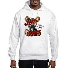 Gas Masks & Teddy Bears Hoodie