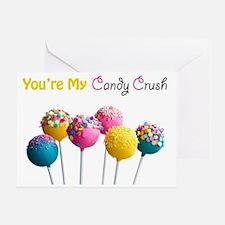Candy Crush Greeting Card