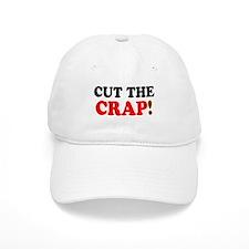 CUT THE CRAP! Baseball Cap