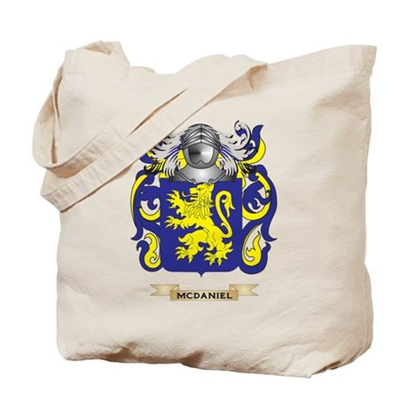 McDaniel Coat of Arms - Family Crest Tote Bag