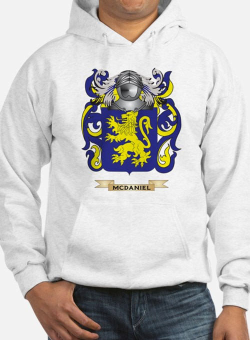 McDaniel Coat of Arms - Family Crest Hoodie