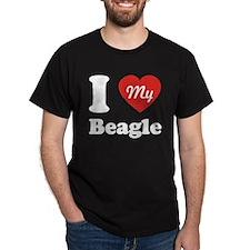 I Heart My Beagle T-Shirt