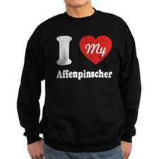 I Heart My Affenpinscher Jumper Sweater