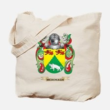 McDonagh Coat of Arms - Family Crest Tote Bag