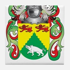 McDonagh Coat of Arms - Family Crest Tile Coaster