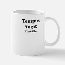 Tempus fugit Small Mug