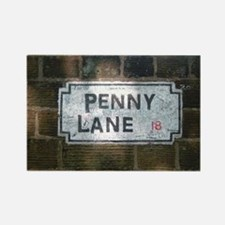 Penny Lane Street Sign Rectangle Magnet