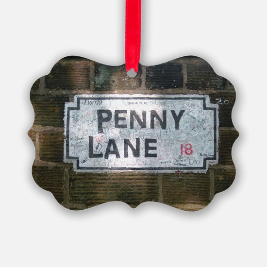 Penny Lane Street Sign Ornament