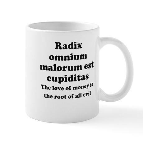 Radix malorum est cupiditas essay