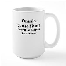 Omnia causa fiunt Mug