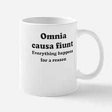 Omnia causa fiunt Small Mug