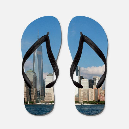 New! New York City USA - Pro Photo Flip Flops