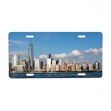 Stunning new New York City skyline Aluminum Licens