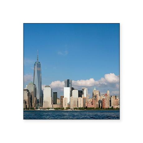"""New! New York City USA - Pr Square Sticker 3"""" x 3"""""""