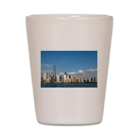 New! New York City USA - Pro Photo Shot Glass