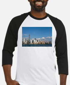 New! New York City USA - Pro Photo Baseball Jersey
