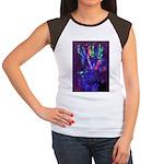 Blender Women's Cap Sleeve T-Shirt