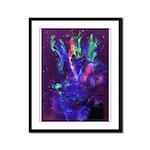 Blender Framed Panel Print