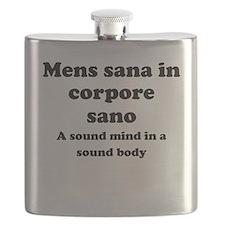Mens sana in corpore sano Flask