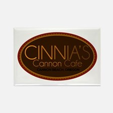 Cinnia's Cannon Cafe Rectangle Magnet
