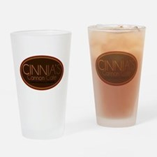 Cinnia's Cannon Cafe Drinking Glass