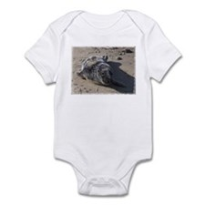 Harbor Seal Pup --  Infant Bodysuit