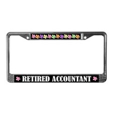Accountant Occupation License Plate Frame